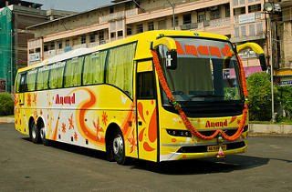 Hire Bus Chitradurga