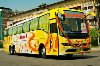 Hire Bus Davangere