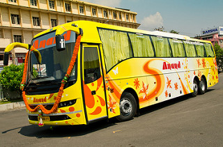 Hire Bus Harihar
