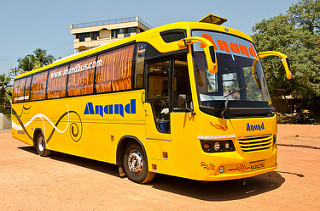 Hire Bus Kolluru