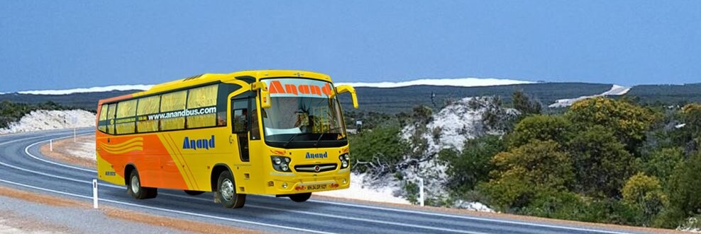 Online Bus Ticket Booking Anand Travels
